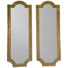 Monumental Pair of French 19th Century Palatial Mirrors