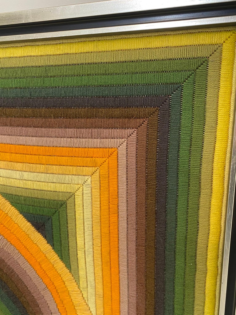 French Monumental Patrice Allard Tapestry, 1975 For Sale