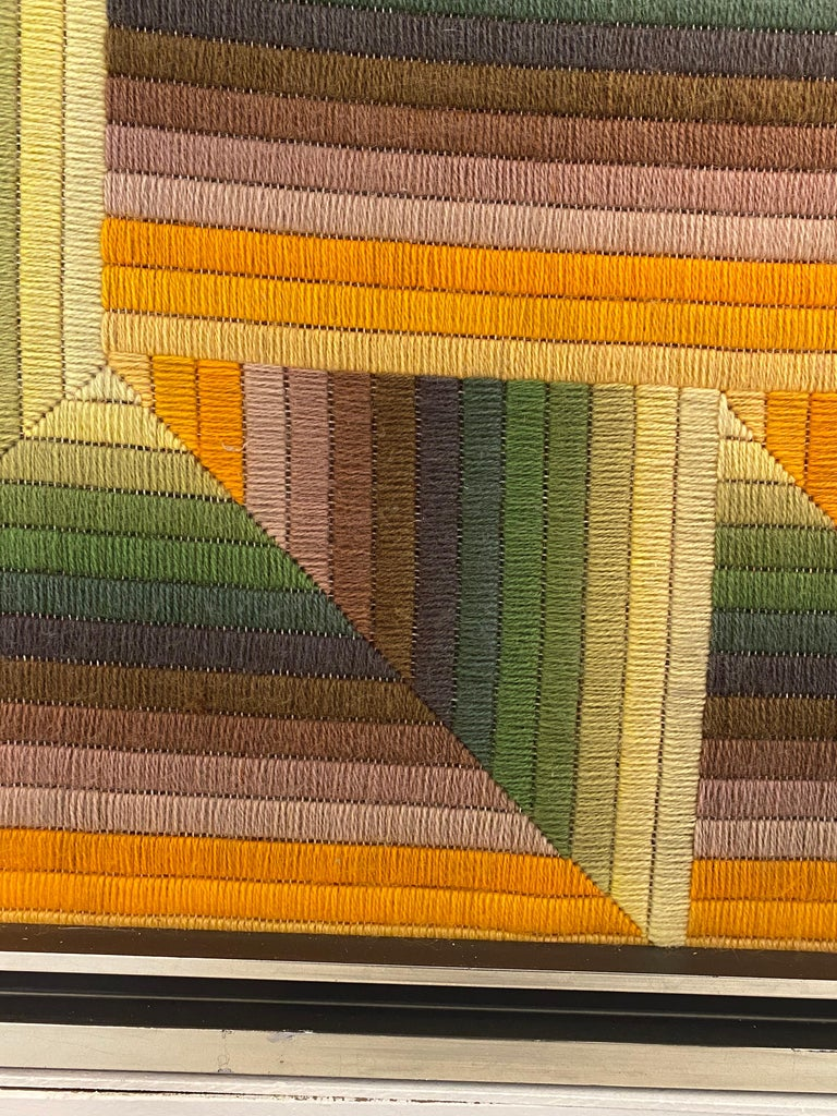 Late 20th Century Monumental Patrice Allard Tapestry, 1975 For Sale