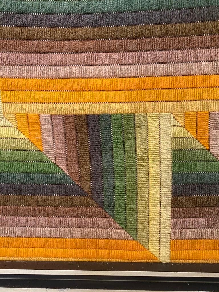 Wool Monumental Patrice Allard Tapestry, 1975 For Sale
