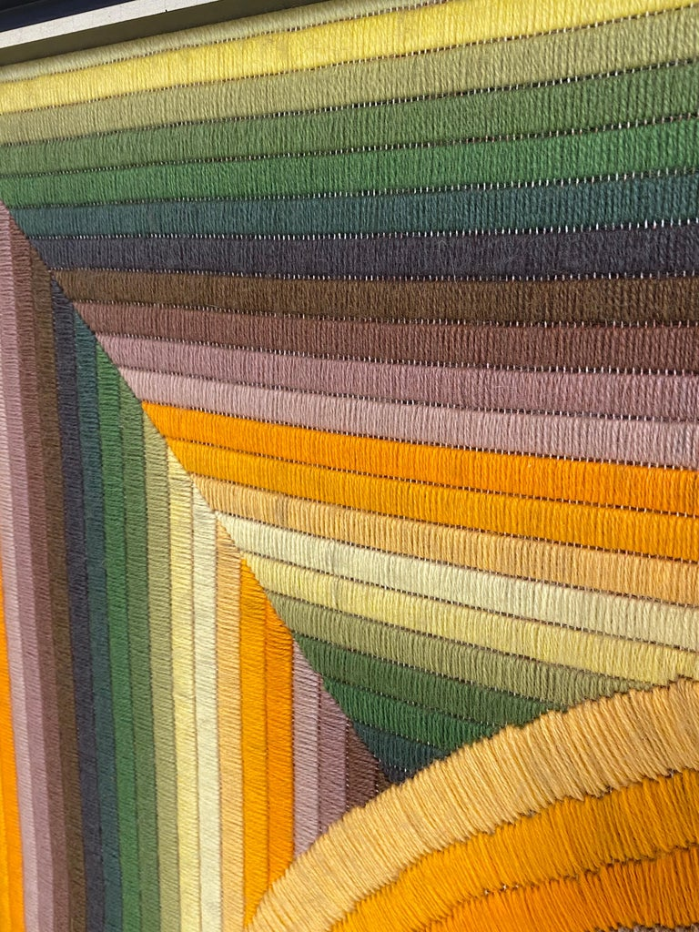 Monumental Patrice Allard Tapestry, 1975 For Sale 1
