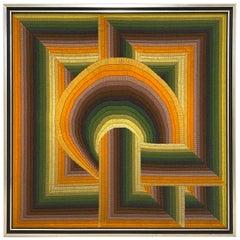Monumental Patrice Allard Tapestry, 1975
