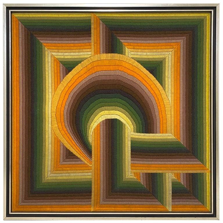 Monumental Patrice Allard Tapestry, 1975 For Sale