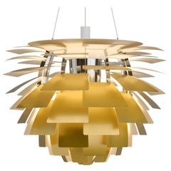 Monumental Poul Henningsen Brass PH Artichoke Chandelier for Louis Poulsen