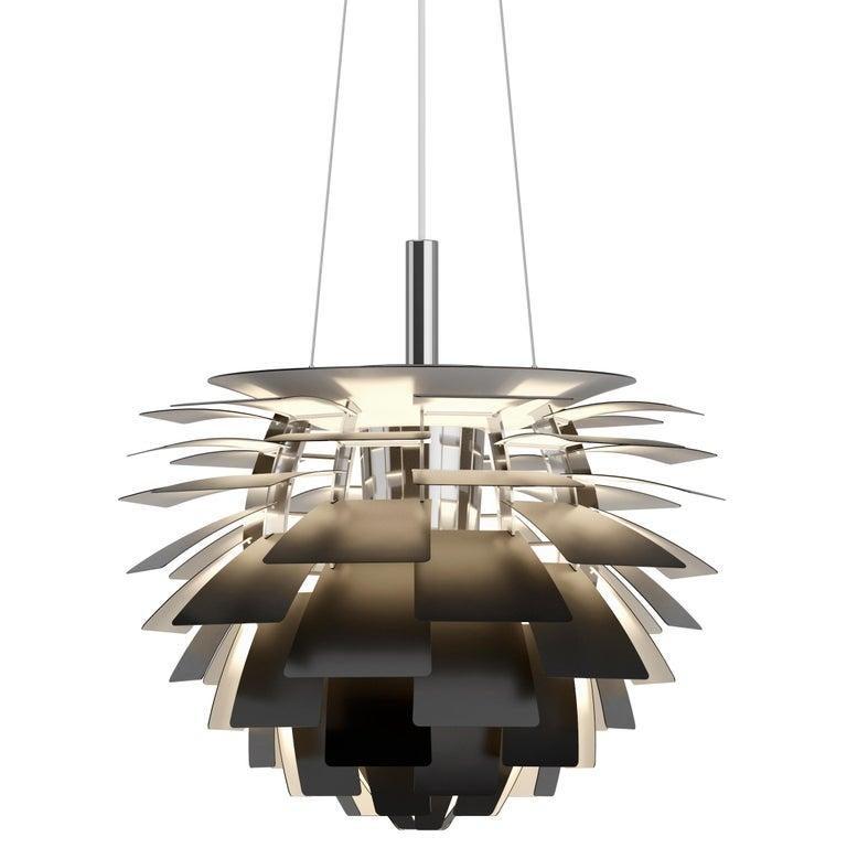 Monumental Poul Henningsen Copper PH Artichoke Chandelier for Louis Poulsen For Sale 14