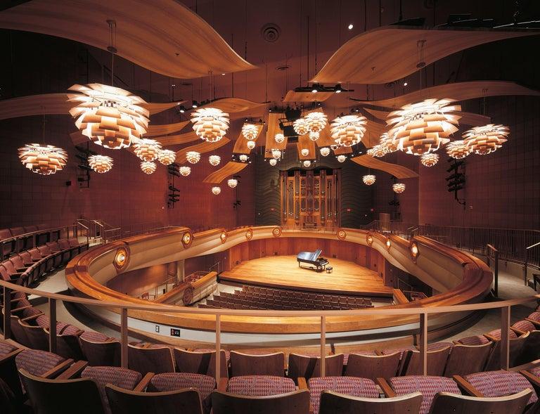 Contemporary Monumental Poul Henningsen Copper PH Artichoke Chandelier for Louis Poulsen For Sale