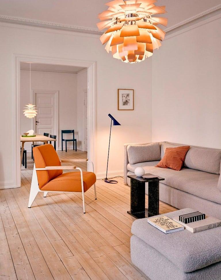 Monumental Poul Henningsen Copper PH Artichoke Chandelier for Louis Poulsen For Sale 3