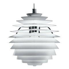 Monumental Poul Henningsen PH Louvre Suspension Lamp for Louis Poulsen