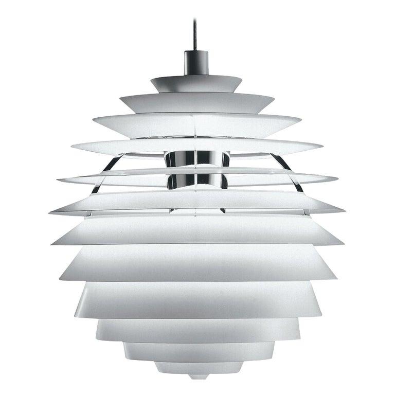 Monumental Poul Henningsen PH Louvre Suspension Lamp for Louis Poulsen For Sale