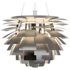 Monumental Poul Henningsen Steel PH Artichoke Chandelier for Louis Poulsen