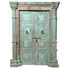 Monumental Set of Indian Doors