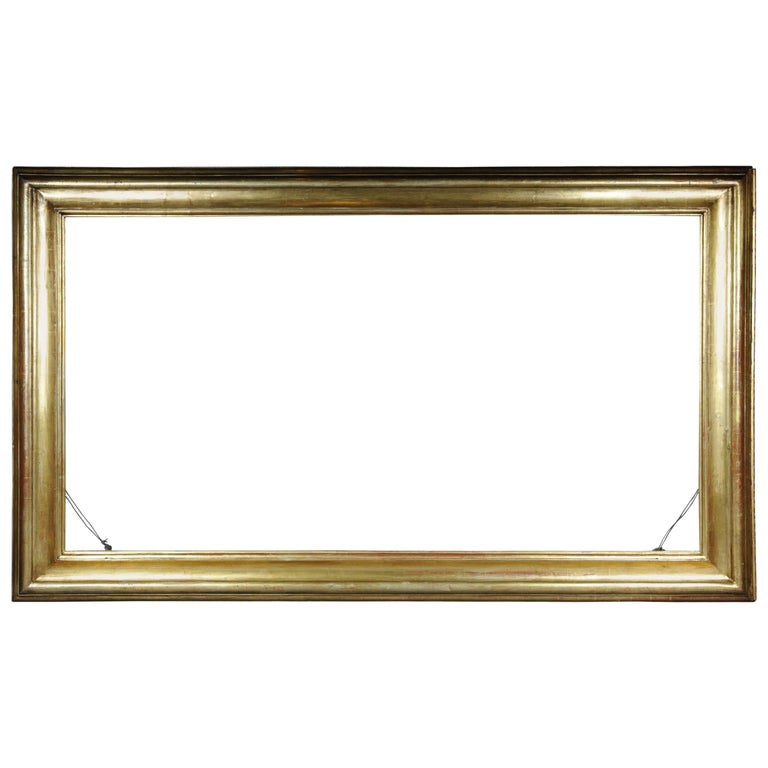 Monumental Sheet Gilded Mirror Frame / Picture Frame, circa 1850 1