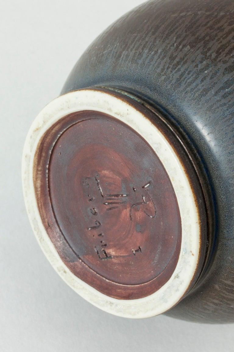 Monumental Stoneware Vase by Berndt Friberg for Gustavsberg, Sweden, 1950s For Sale 4