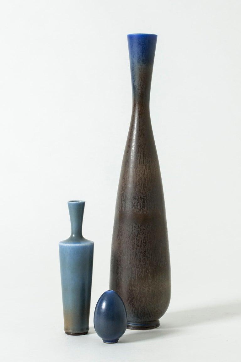 Monumental Stoneware Vase by Berndt Friberg for Gustavsberg, Sweden, 1950s For Sale 5