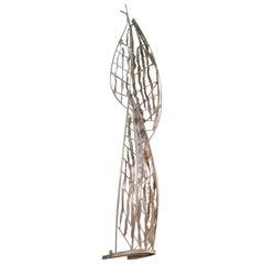 Monumental Stylized steelTree Curtis Jere Style Brutalist Sculpture