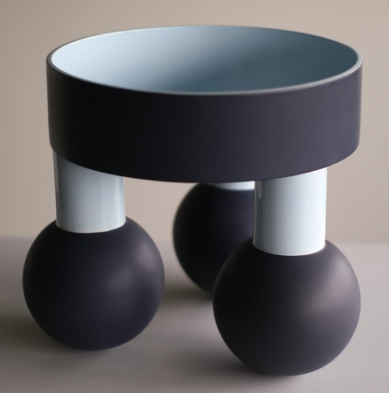 Beautiful large ceramic Sottsass