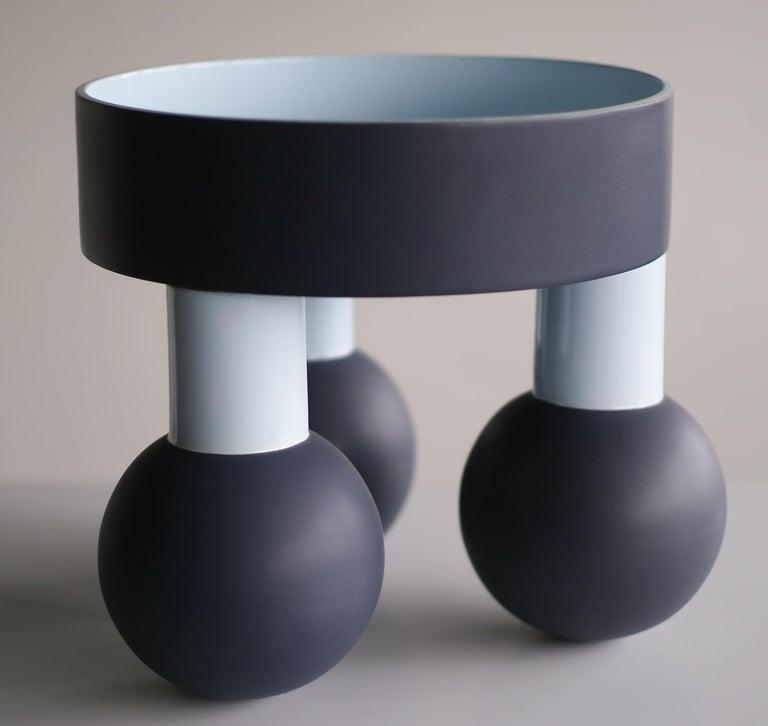 Dutch Monumental Tarzan Ceramic Bowl by Ettore Sottsass For Sale
