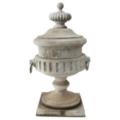 Monumental Urn-Shape Zinc Finial