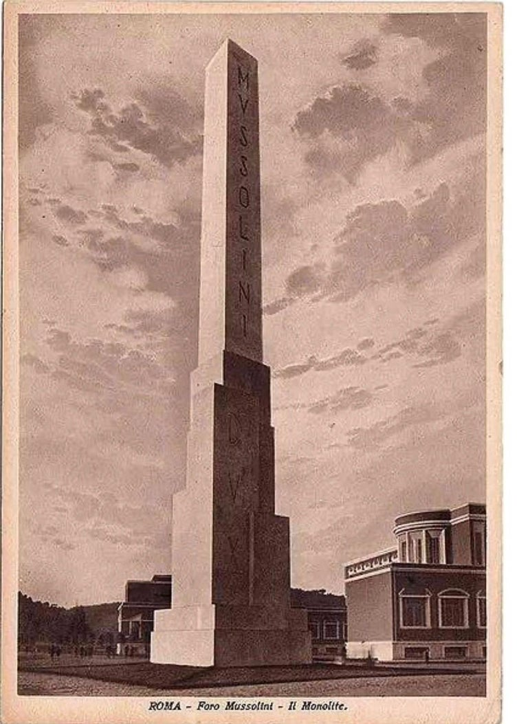 Monumental Vintage Statuary Obelisk, Italy, 1940s For Sale 4