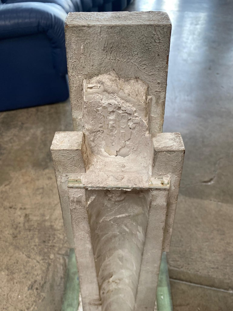 Monumental Vintage Statuary Obelisk, Italy, 1940s For Sale 1