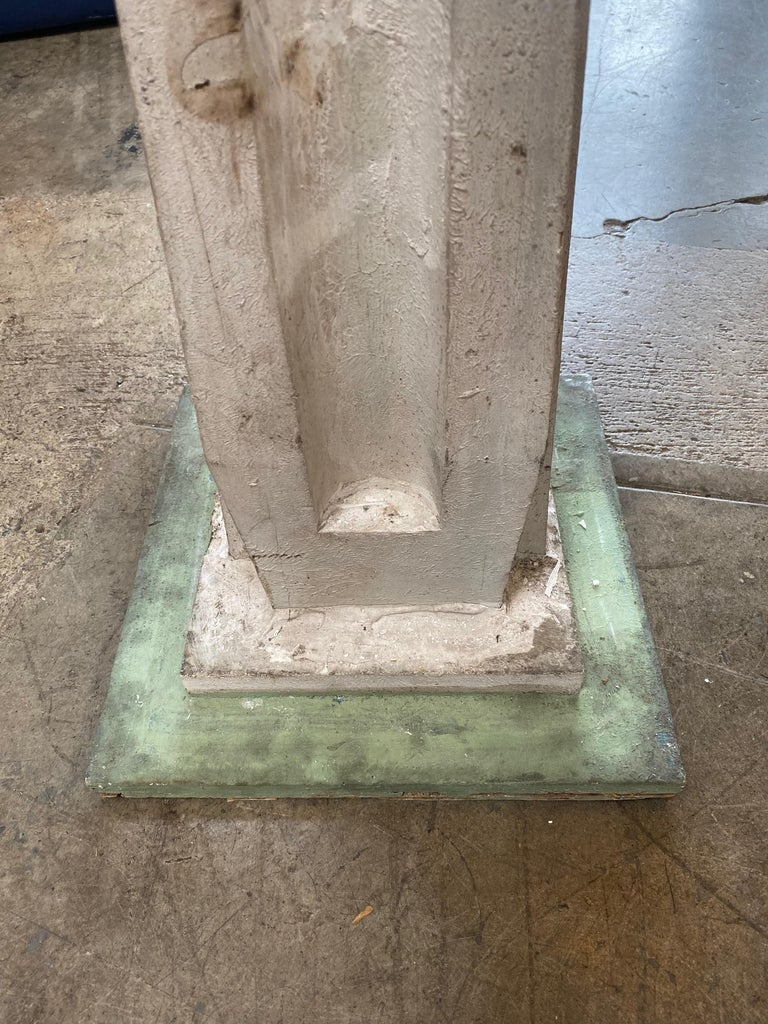 Monumental Vintage Statuary Obelisk, Italy, 1940s For Sale 2