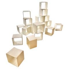 Monumental Willy Guhl Concrete Bookcase