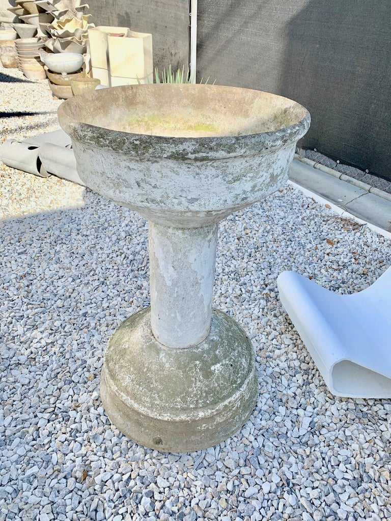 Monumental Willy Guhl Fountain For Sale 1