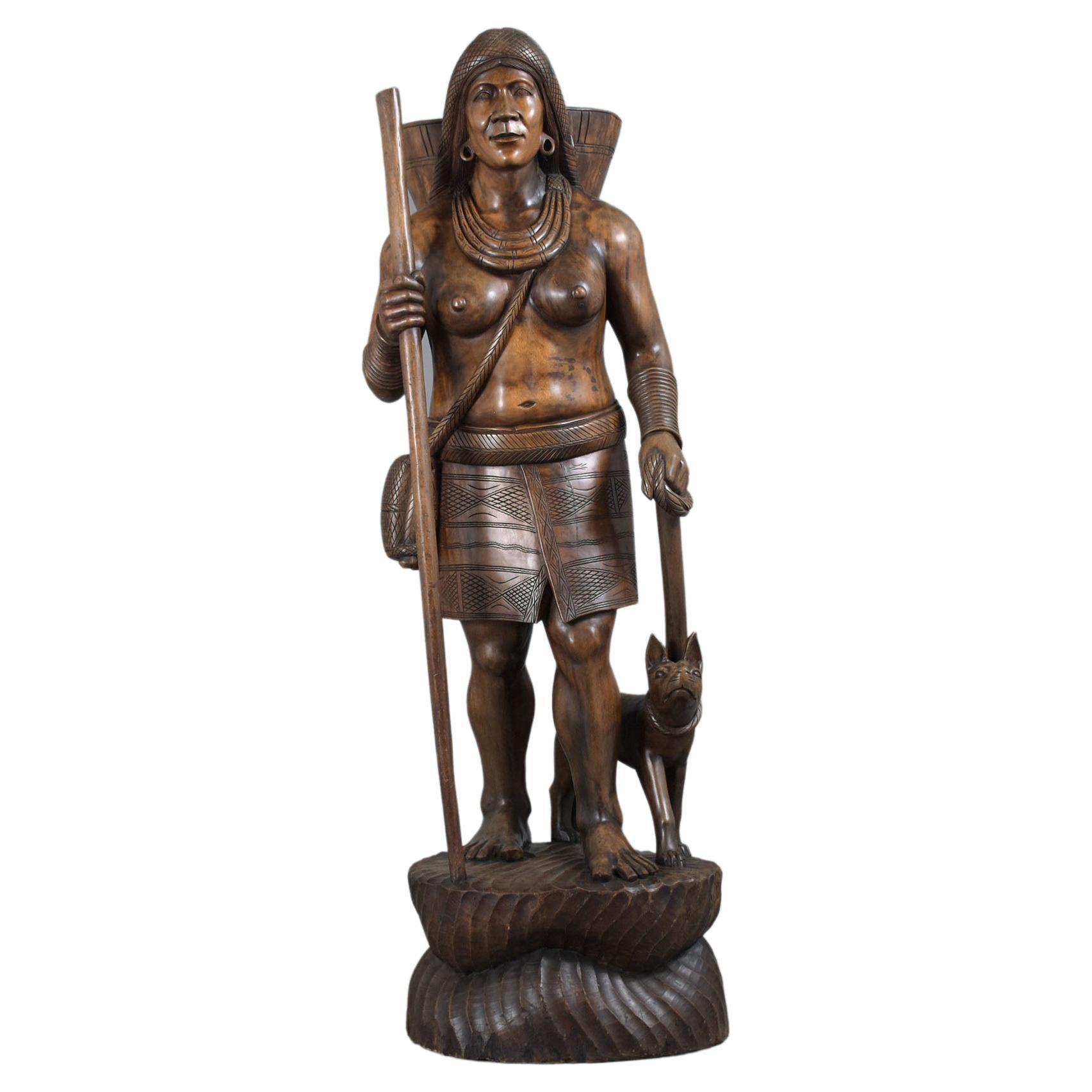 Monumental Wood Sculpture