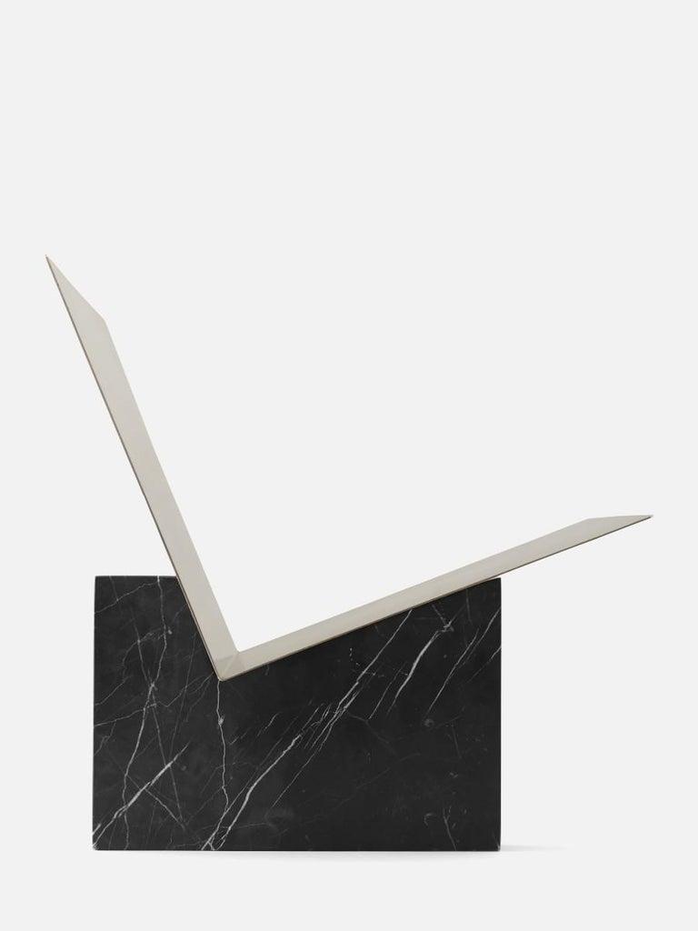 Monuments Magazine Holder, Black, Designed by Dubokk
