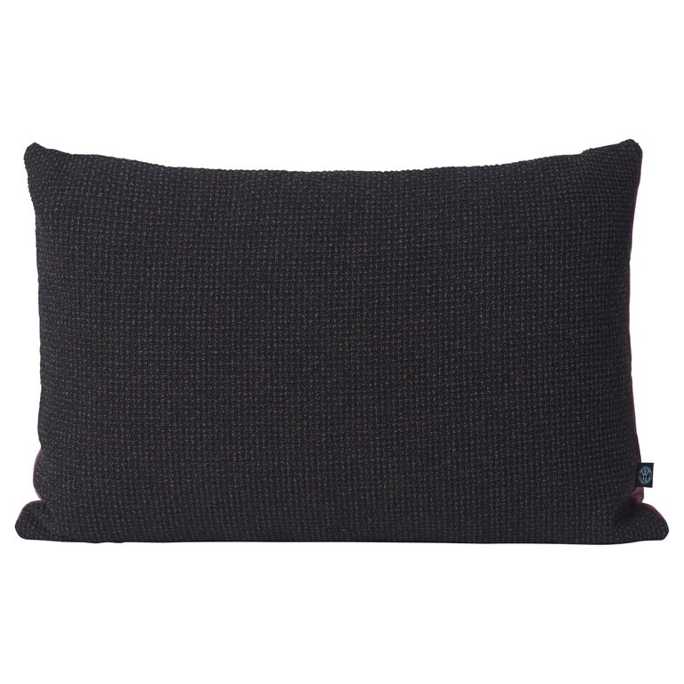 For Sale: Black Moodify Cushion, by Warm Nordic