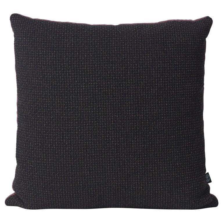 For Sale: Black Moodify Square Cushion, by Warm Nordic