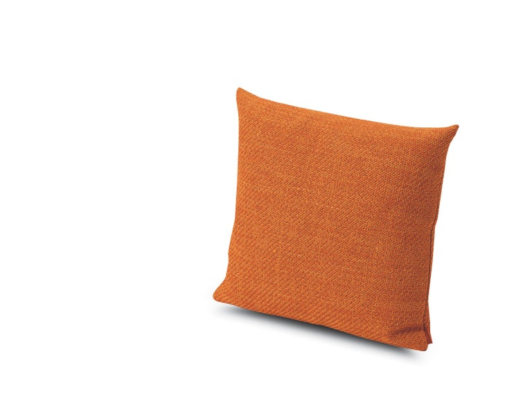 For Sale: Orange (1H4CU00782-T40) Moomba Small Yarn-Dyed Cushion in Jewel Tones by MissoniHome