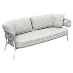 Moon 2-Seat Sofa Light Gray