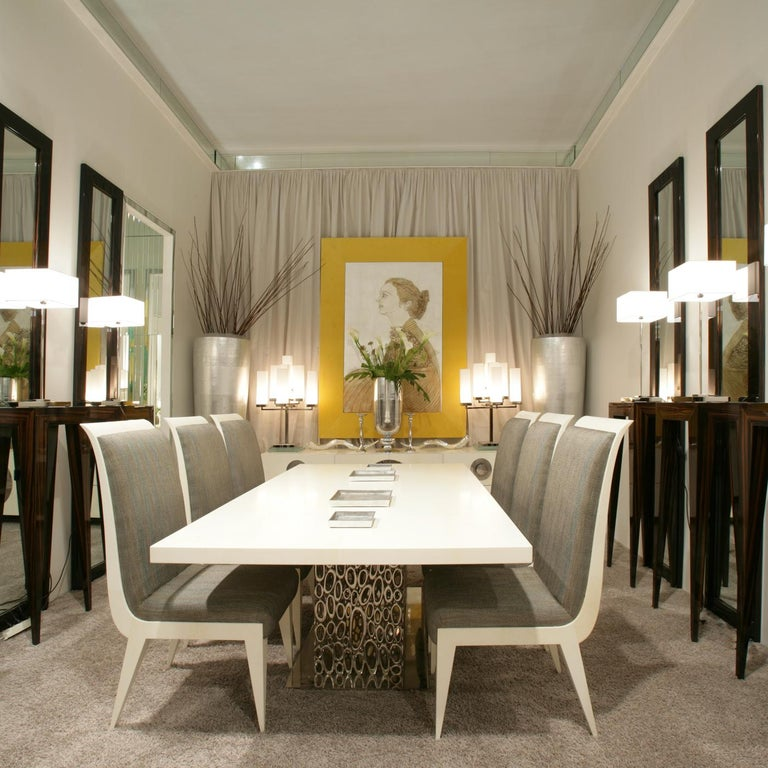 Modern Moon Dining Table