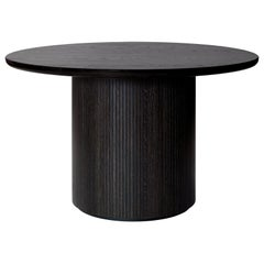 Moon Dining Table, Round, Wood Top, Large