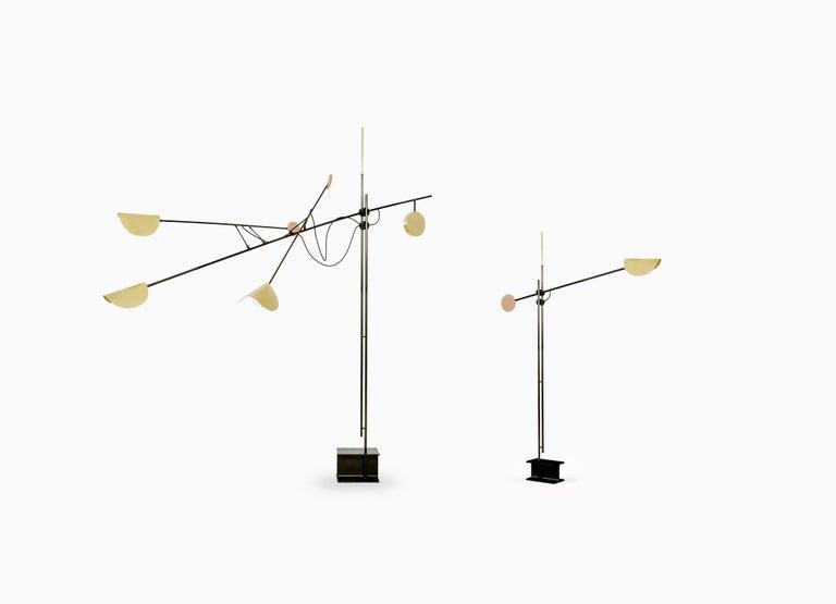 Modern Moon Floor Lamp by SB26 For Sale