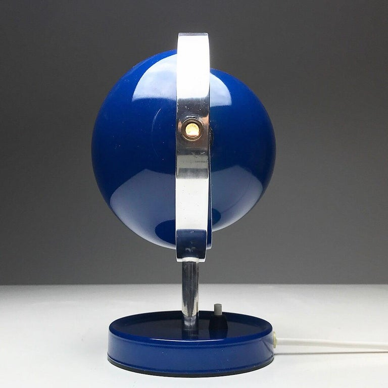 Moon Light table lamp by Brylle and Jakobsen for Quality System, Denmark 1960s  For Sale 3