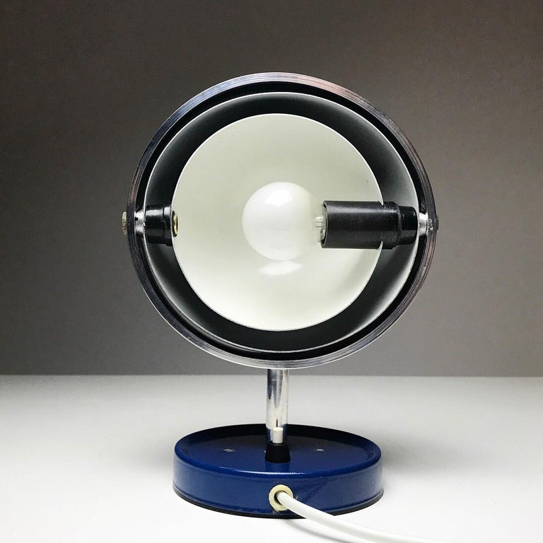 Moon Light table lamp by Brylle and Jakobsen for Quality System, Denmark 1960s  In Good Condition For Sale In Haderslev, DK