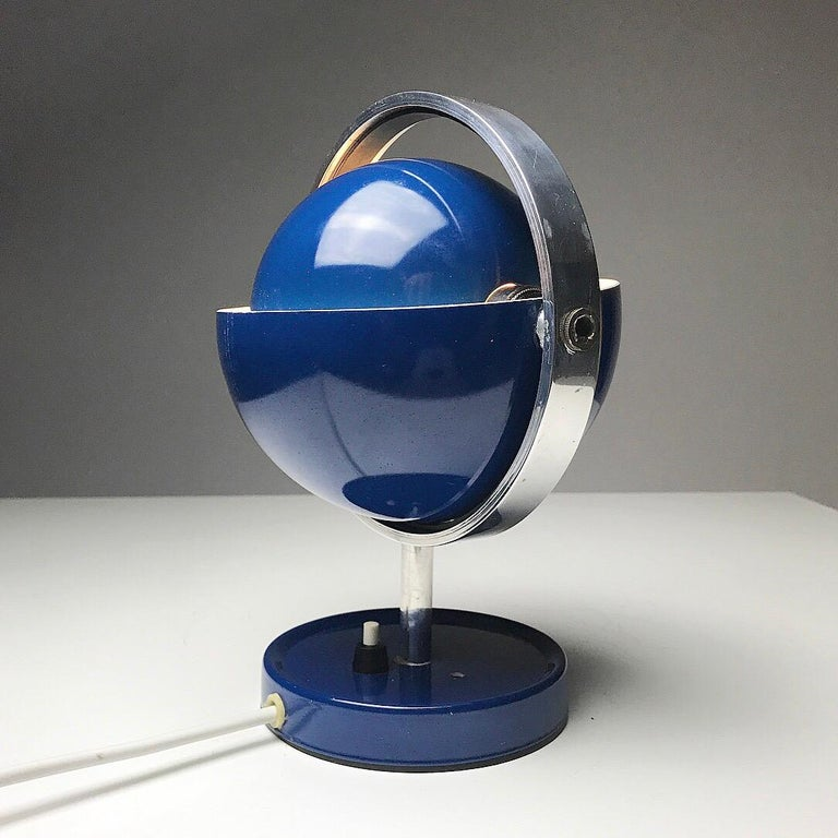 Moon Light table lamp by Brylle and Jakobsen for Quality System, Denmark 1960s  For Sale 1