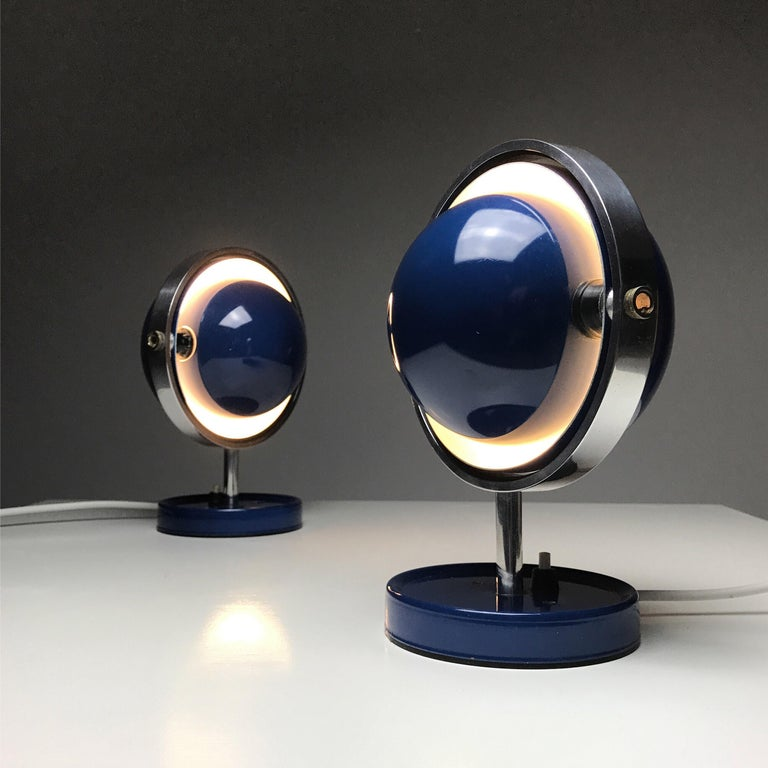 Moon Light table lamp by Brylle and Jakobsen for Quality System, Denmark 1960s  For Sale 2