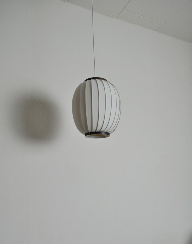 Danish Bojan Pendant Lamp by Lars Eiler Schiøler for Hoyrup Light, 1970s For Sale