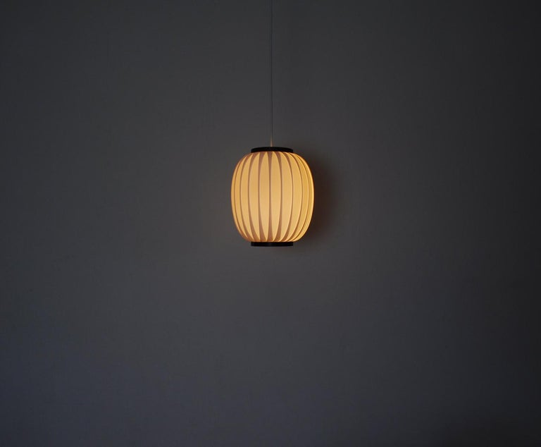 Bojan Pendant Lamp by Lars Eiler Schiøler for Hoyrup Light, 1970s In Good Condition For Sale In Vordingborg, DK