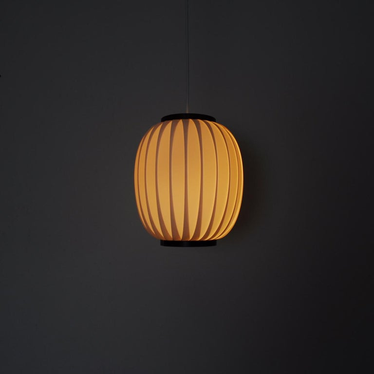 20th Century Bojan Pendant Lamp by Lars Eiler Schiøler for Hoyrup Light, 1970s For Sale