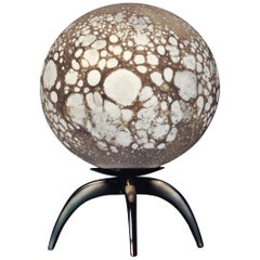 Moon Sculpted Table Lamp, Ludovic Clément d'Armont
