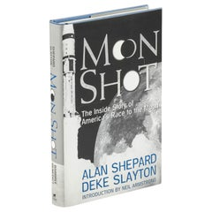 Moon Shot, First Edition Signed by Alan Shepard, 1994