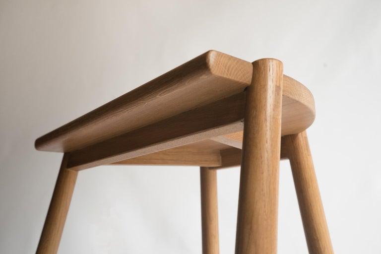 Peachy Moon Stool By Sun At Six Sienna Minimalist Counter Stool In Oak Wood Ibusinesslaw Wood Chair Design Ideas Ibusinesslaworg