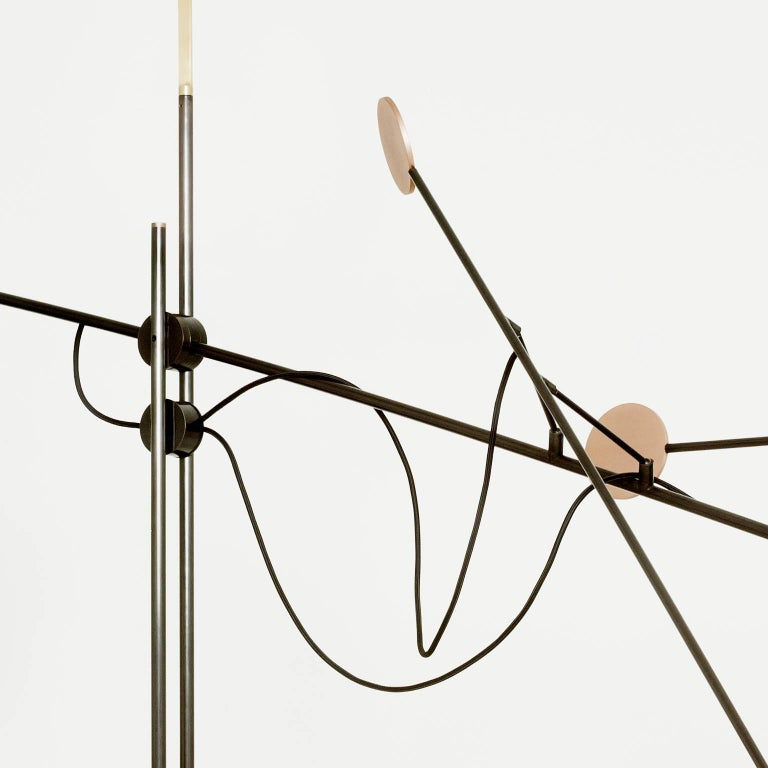 Modern Moon Floor Lamp - Extra Large, Contemporary French Lighting For Sale
