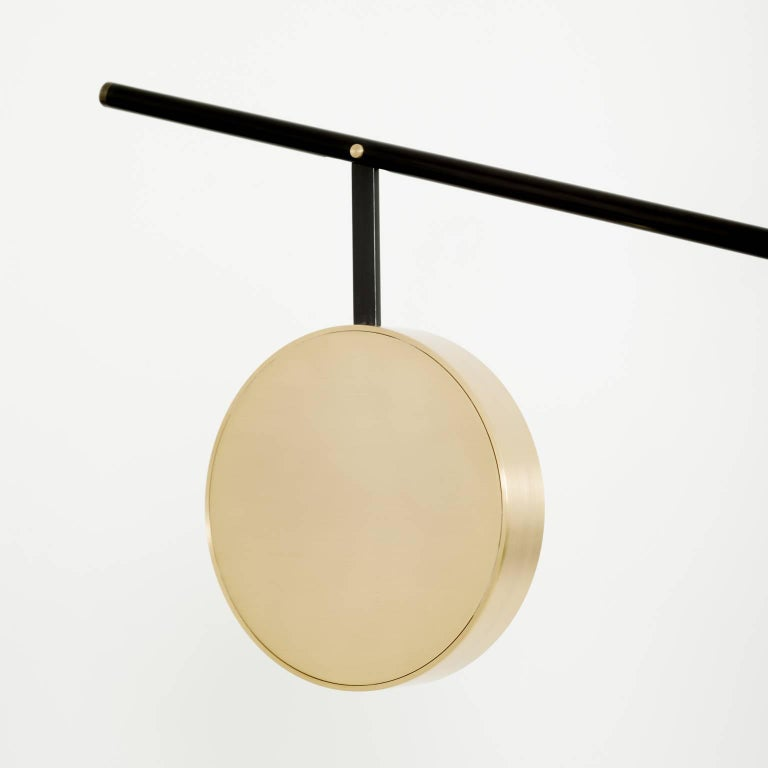 Moon Floor Lamp - Extra Large, Contemporary French Lighting For Sale 1
