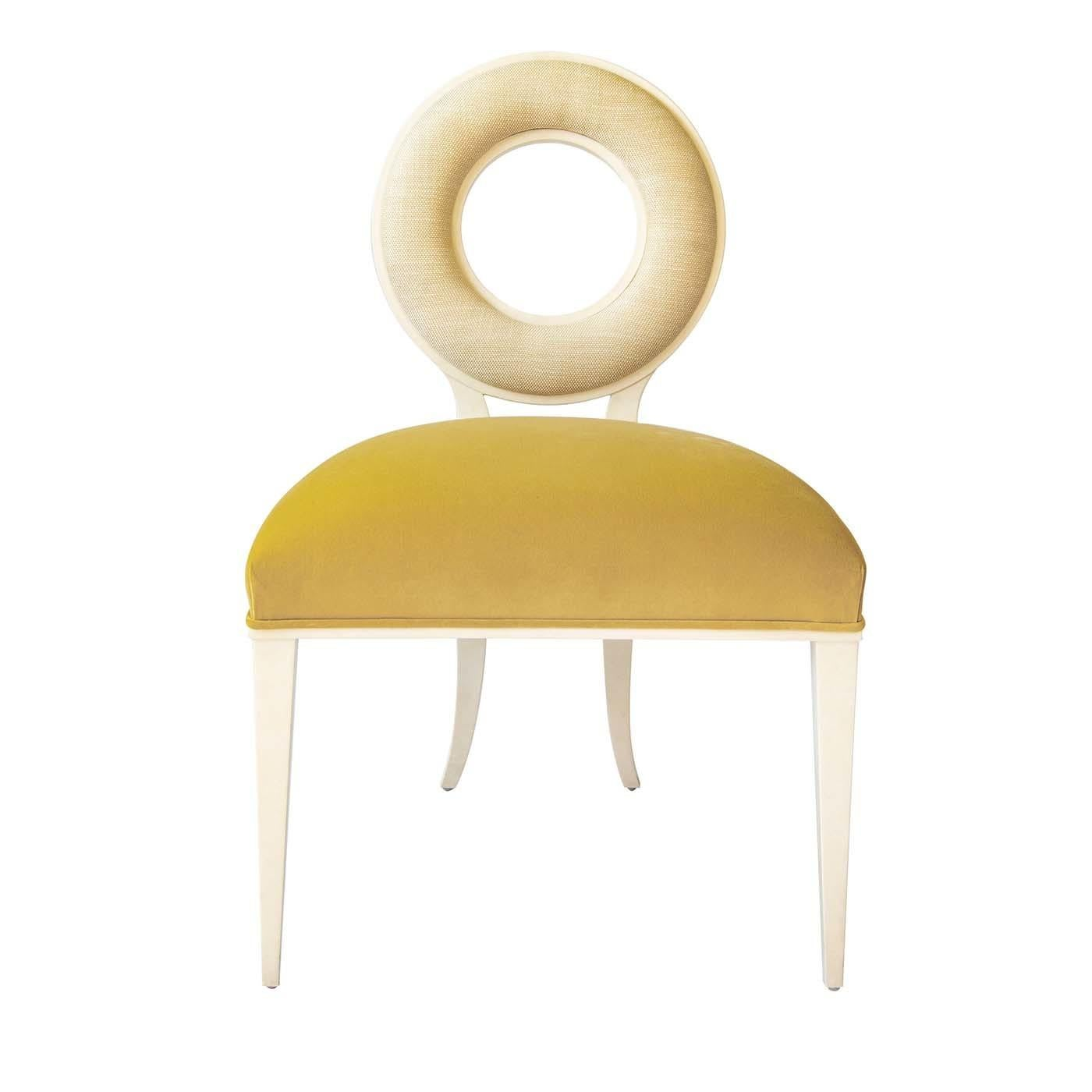 Moon Yellow Chair by Tura