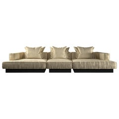 Moonage Daydream Modular Sofa White Leather